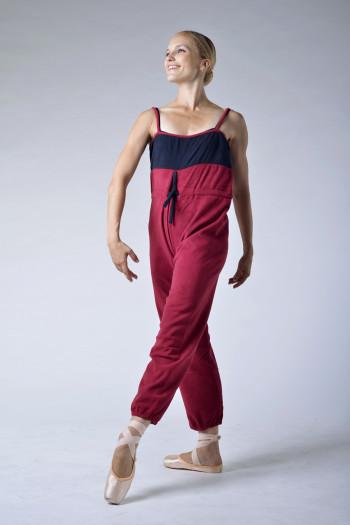 Sansha Gaby bordeaux/black camisole unitar