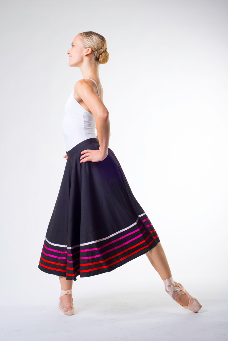 Sansha character skirt Constanza with red stripes