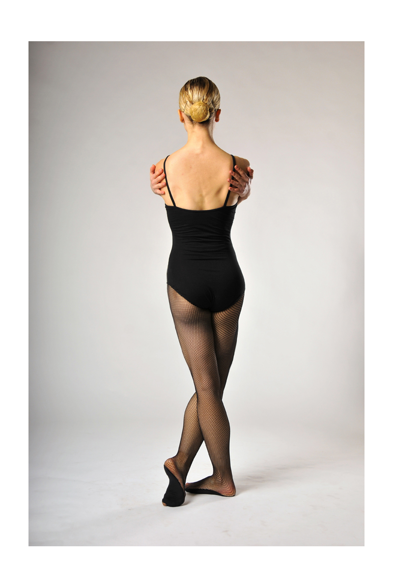 Capezio 3000 Professional black fishnet tights