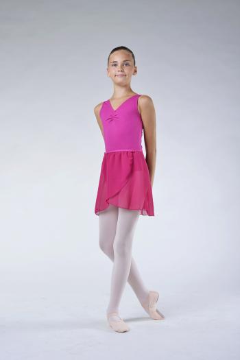 Jupette danse classique capezio rose