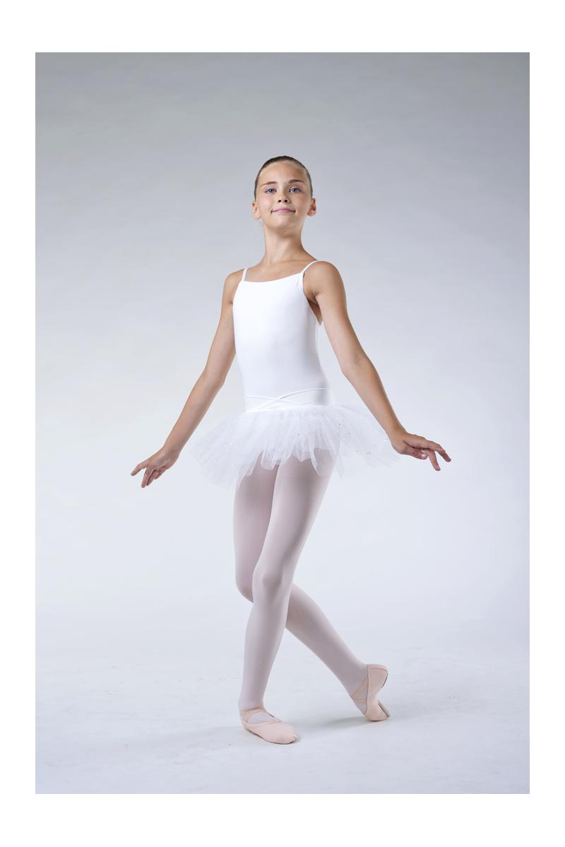 Capezio white camisole tutu dress