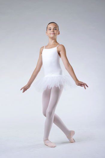 Capezio white camisole tutu dress
