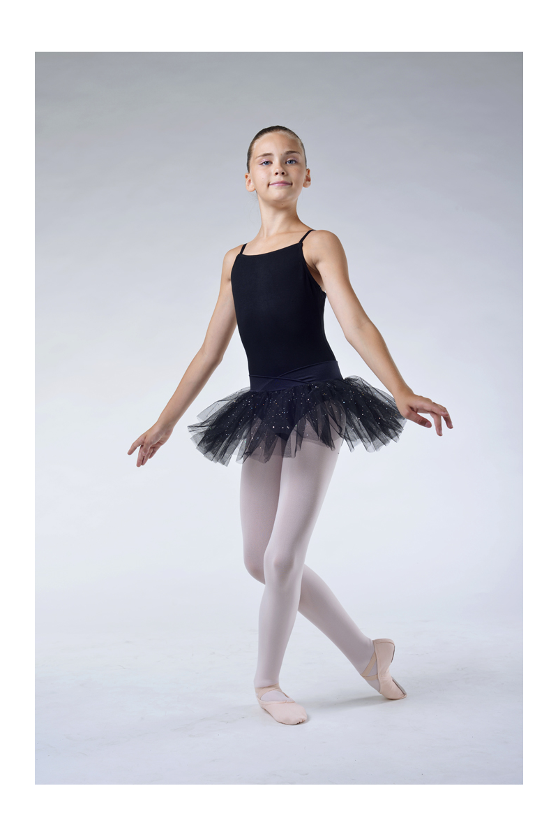 Capezio black camisole tutu dress