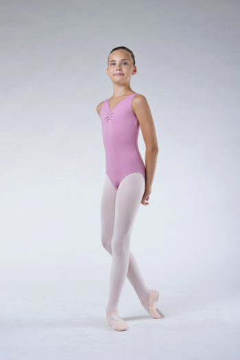 Justaucorps fille capezio rose