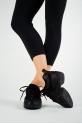 Sansha Tutto Nero black sneakers
