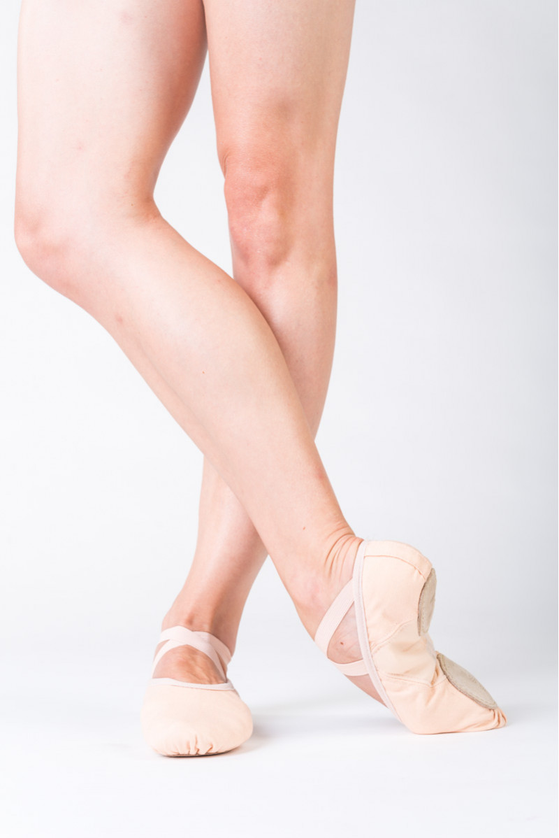 Demi-pointes Repetto T231 deep peach