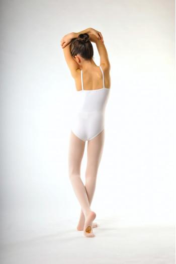 Collant danse classique capezio convertible enfant rose