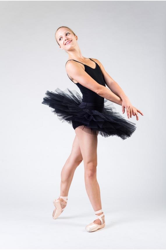 tutu plateau danse capezio 10391 noir femme mademoiselle danse. Black Bedroom Furniture Sets. Home Design Ideas