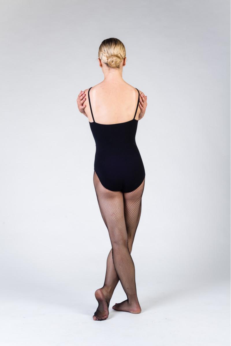 Capezio Studio black fishnet tights