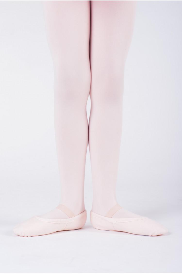 sansha pink canvas soft ballet shoes tutu split