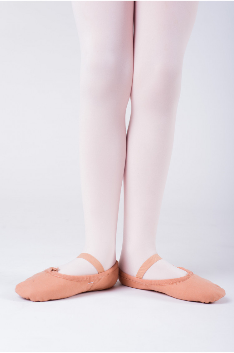 Sansha flesh canvas soft ballet shoes Tutu Split
