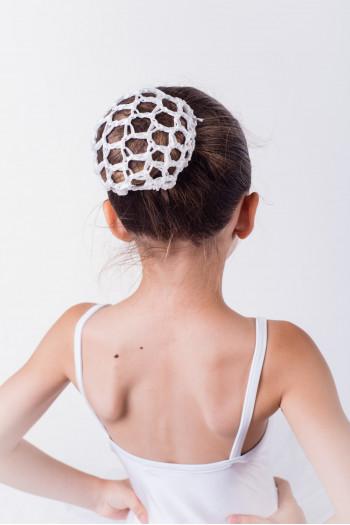 Sansha white ballet bun holder