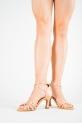 Chaussures de danse Alaia flesh