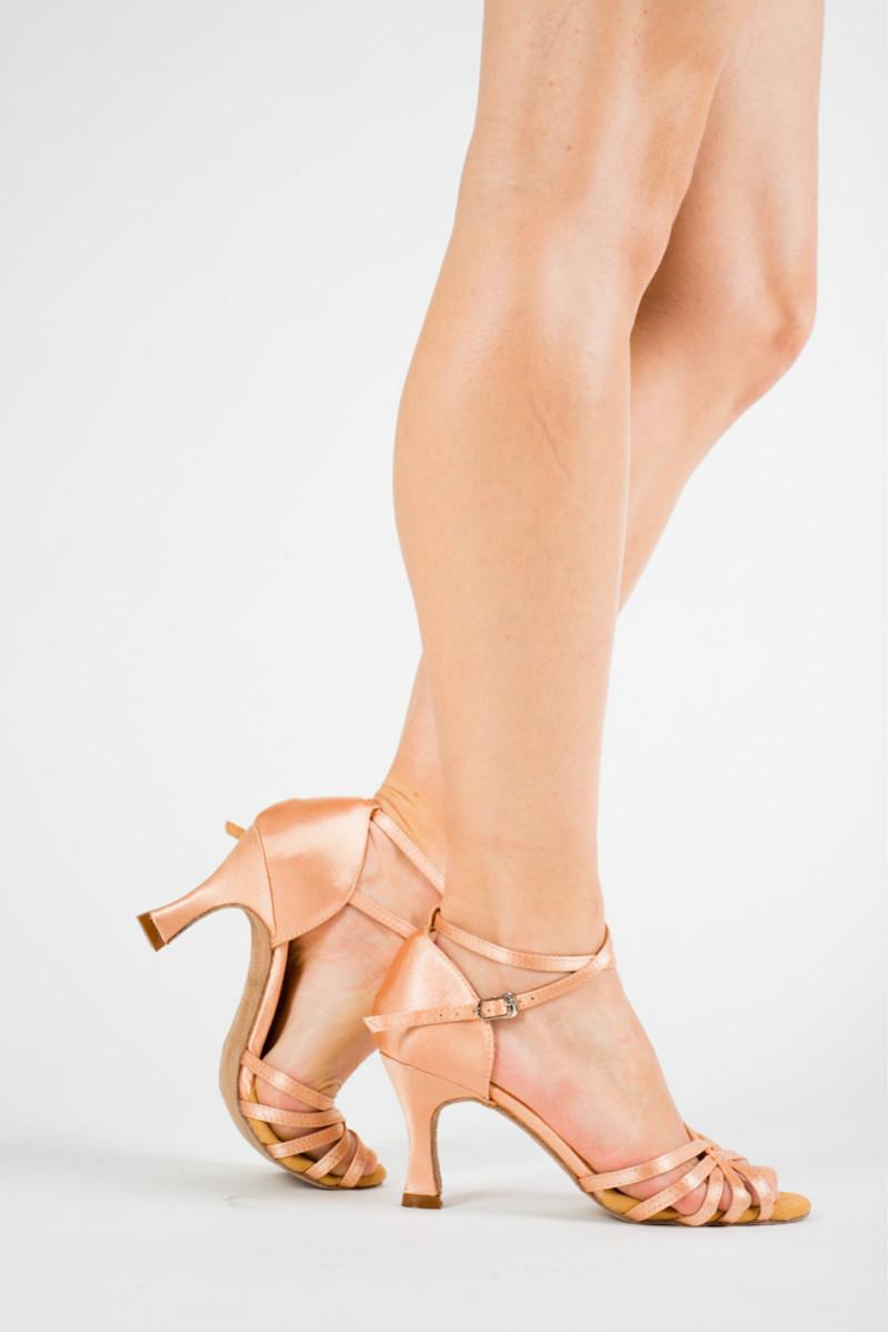 Sansha Alaia light pink latin dance shoes