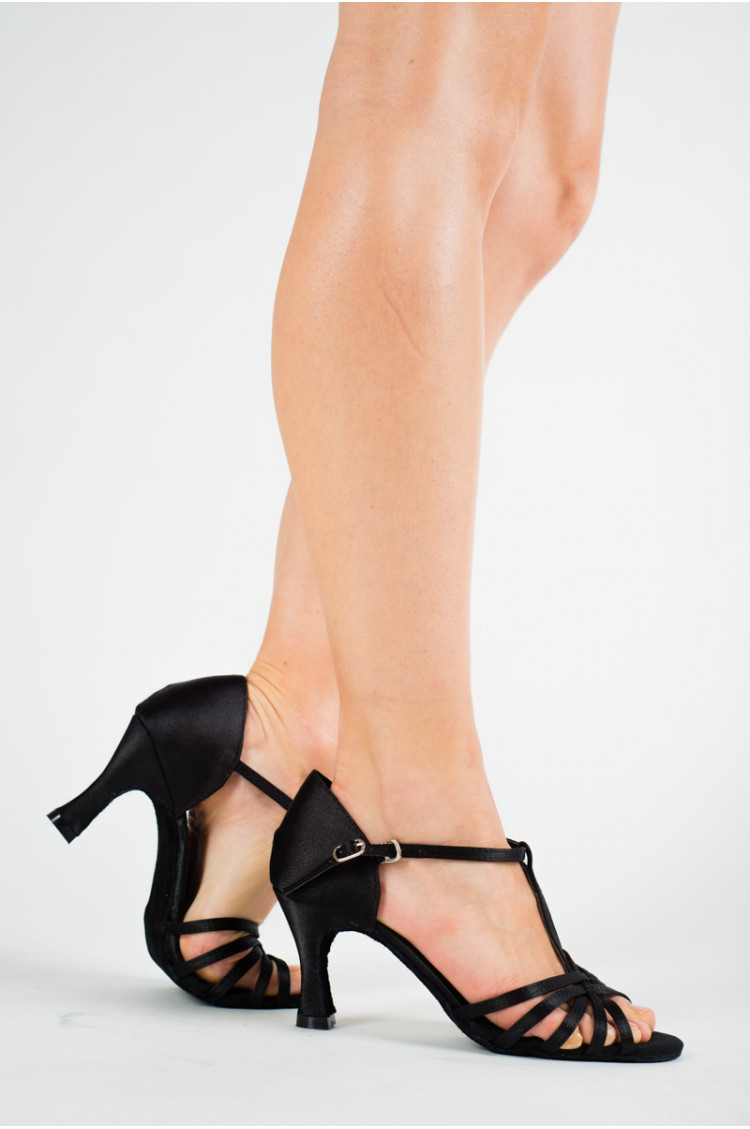 Sansha Alaia black latin dance shoes