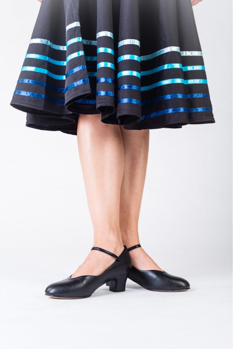 Jupe de caractère Sansha Constanza galons bleus