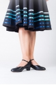 Sansha character skirt Constanza with blue stripes