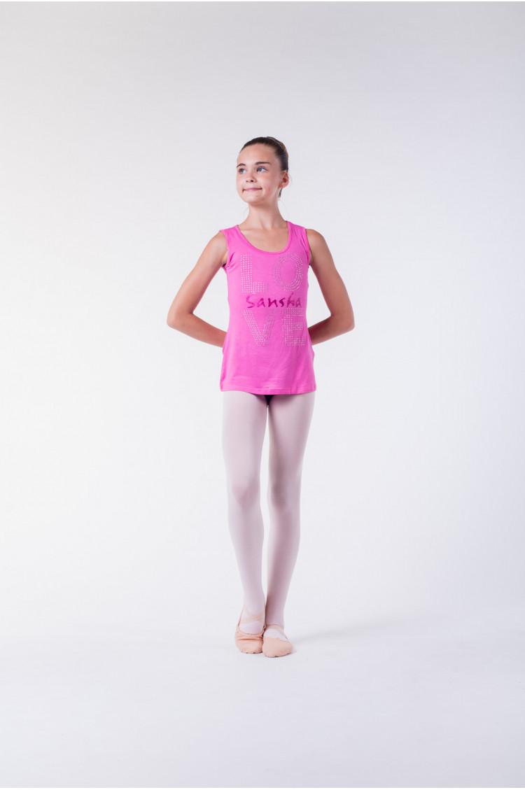 Sansha pink dance T-shirt