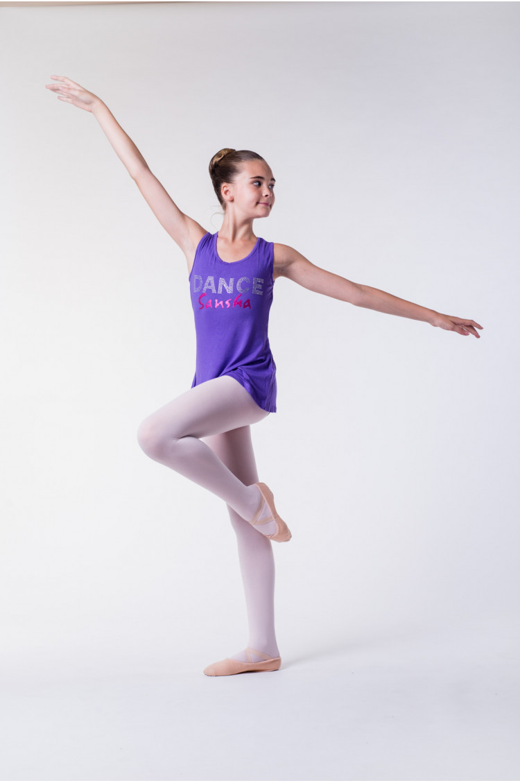 Sansha violet dance T-shirt