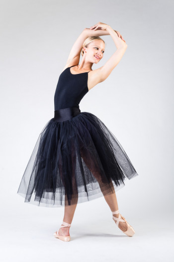 MDA black tutu for women