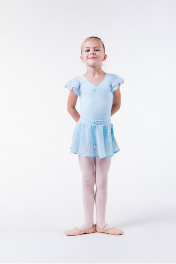 Bloch Olesia pastel blue skirt