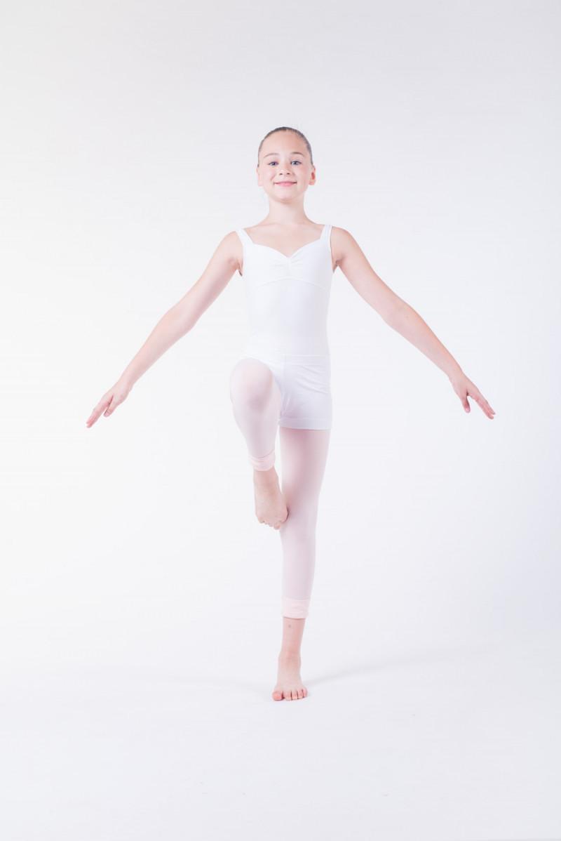 Wear Moi Gipsy white dance shorts