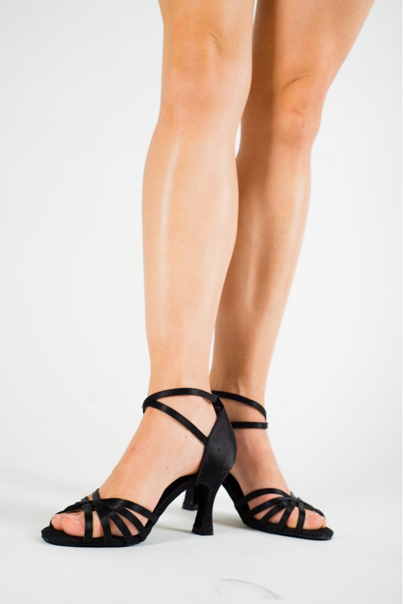 Sansha Alaia black latin dance shoes