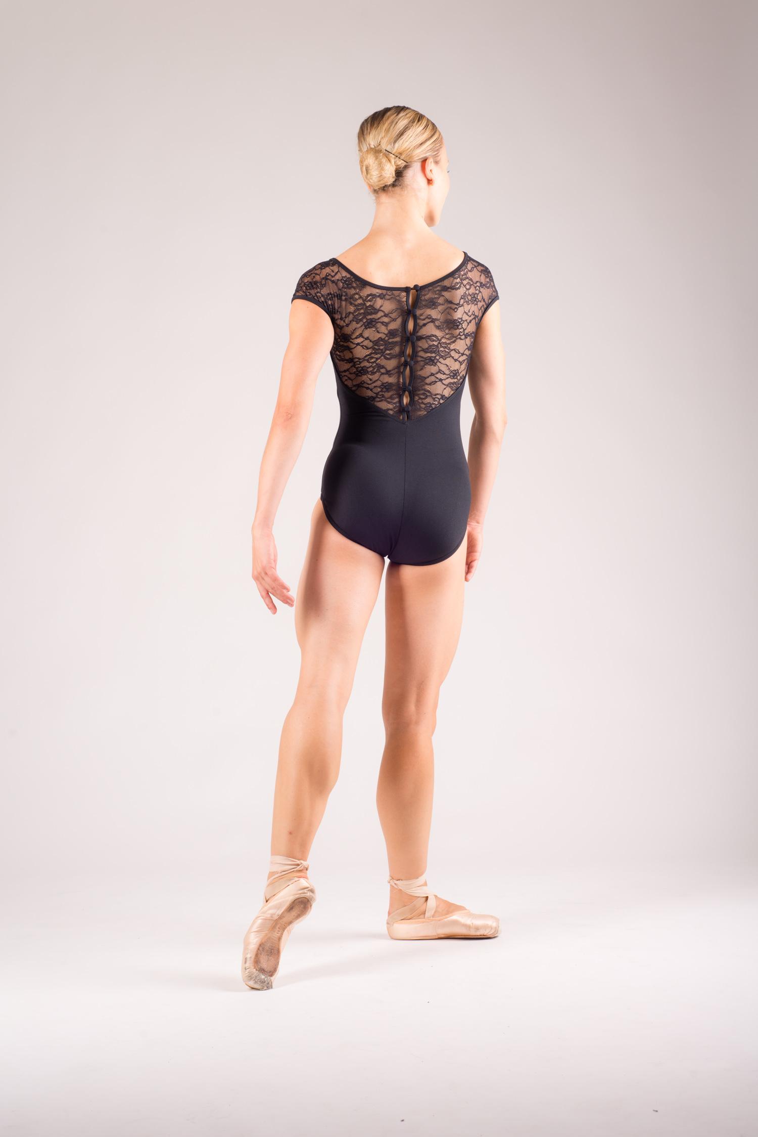 Ballet leotards short sleeved for women - Mademoiselle danse 7e2f55d65