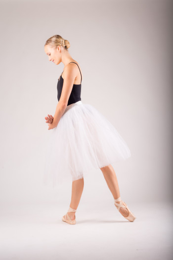 MDA white tutu for women