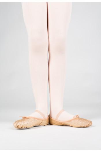 Bloch gold glitterdust ballet slipper