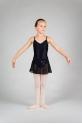 Jupette danse fille mirella noir