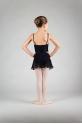 Mirella MS84C sequin black dance skirt