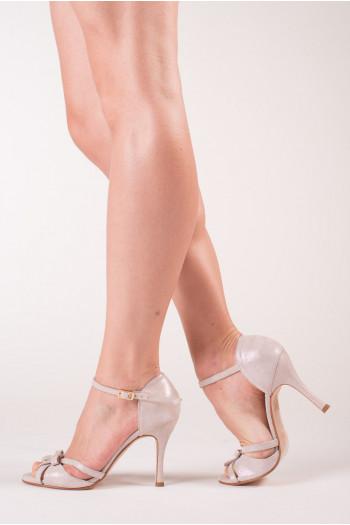 Chaussure de tango blanc