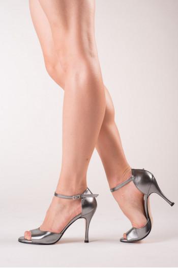 Chaussure de tango gris