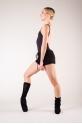 Chaussettes de danse bloch noir