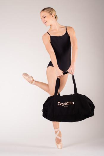 Repetto 'Big glide' black duffle bag