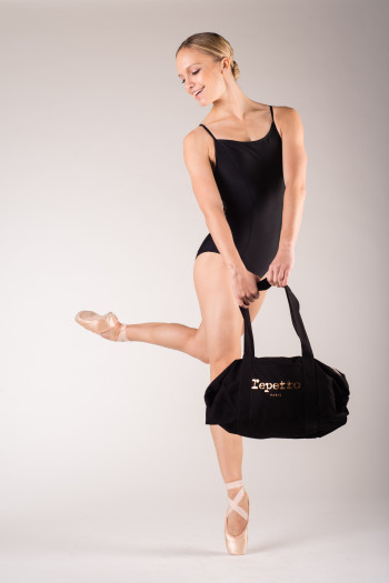 Repetto 'Glide' black duffle bag