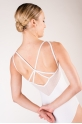 Wear Moi Merveille white leotard