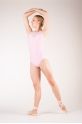 Wear Moi Majesté Pink leotard