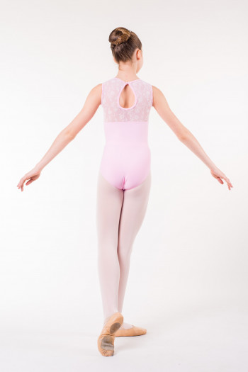Wear Moi Majesté child pink leotard