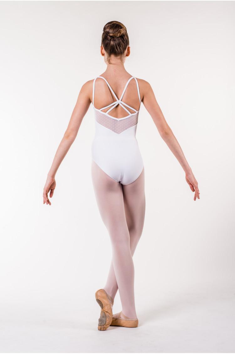 Justaucorps danse classique wear moi blanc