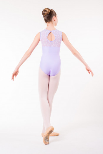 Wear Moi Majesté child lilac leotard