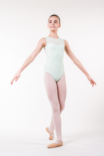 Wear Moi Majesté child Mint leotard