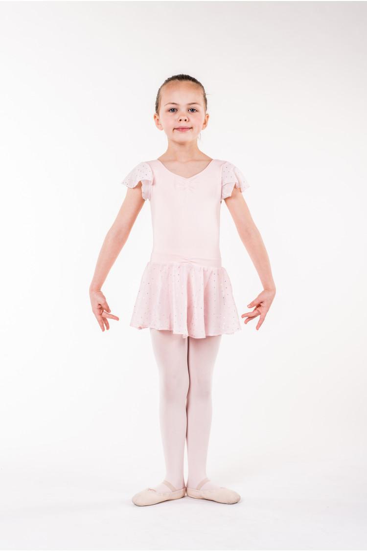 Jupe danseuse bloch rose