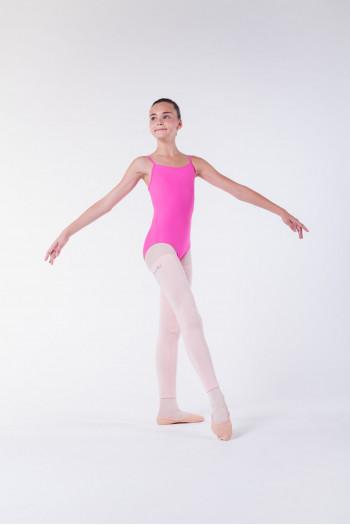 Wear Moi pink knitted full leg warmers