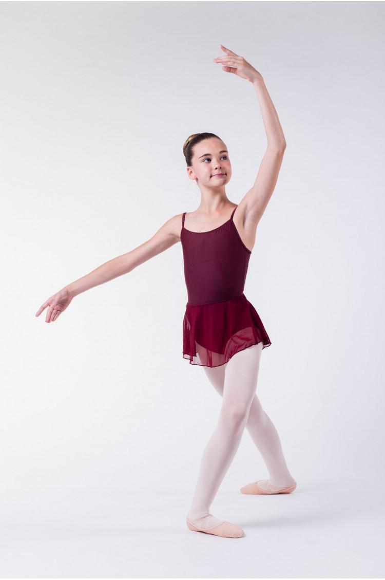Jupette danse classique wear moi enfant bordeaux