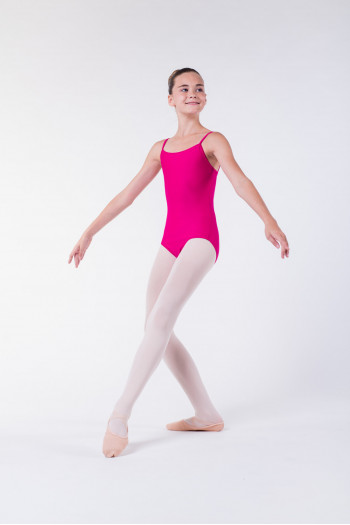 Wear Moi Diane fushia ballet leotard