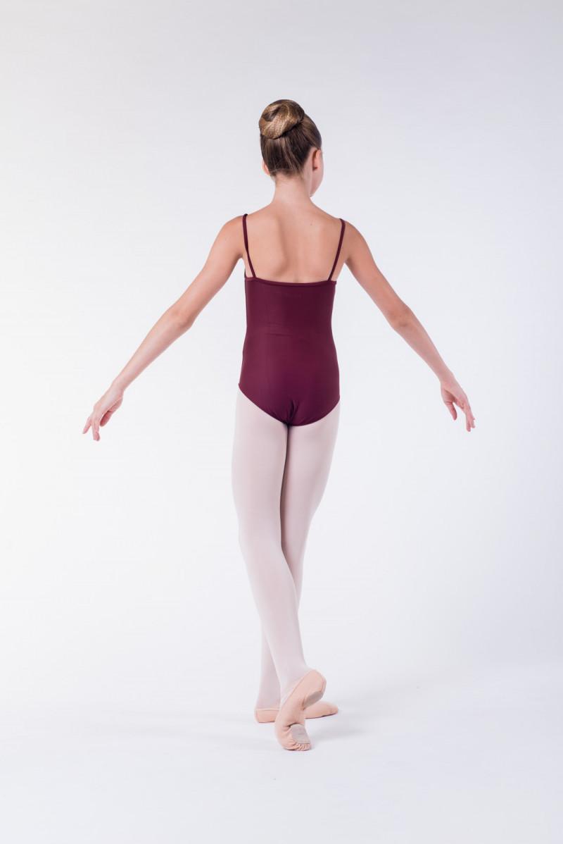 Wear Moi Diane maroon ballet leotard