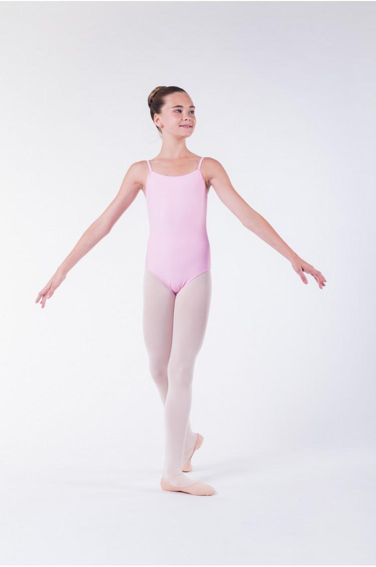 Wear Moi Diane pink ballet leotard