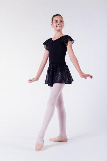 Jupe danseuse bloch noir